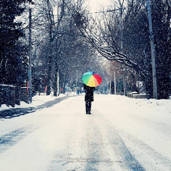 С началом зимы!
