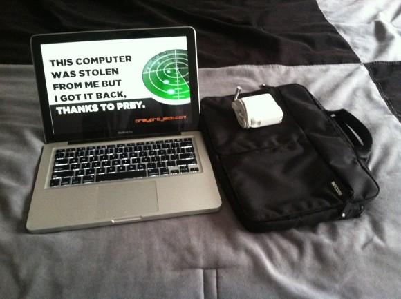 Возвращение украденного ноутбука с помощью Prey