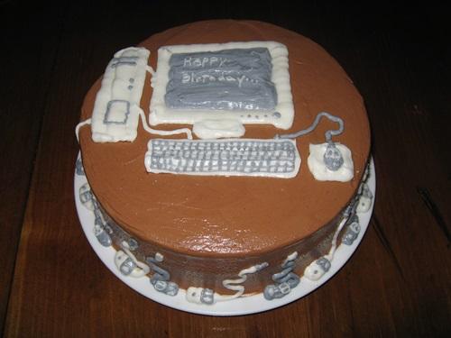 Компьютерный торт